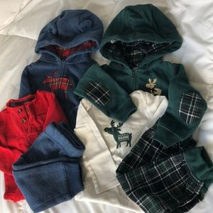 Bundle of 2 winter outfits 12M